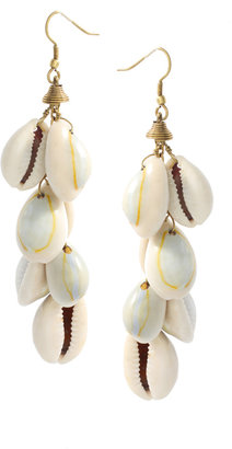ASOS Multi Conch Shell Drop Earrings (+) - Seaside Accessories