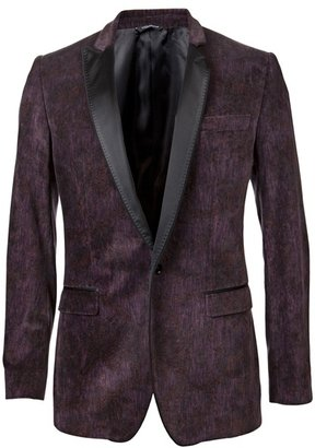 DOLCE &amp; GABBANA - Velvet blazer - Dolce &amp; Gabbana