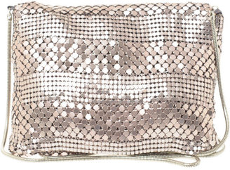 Fiorelli Ibiza Chain Mail Cross Body Bag - Metallic Shoulder Bag