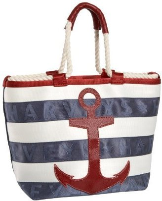 HARVEYS 6106 Rope Tote - Rope Embellishments