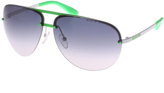 Marc By Marc Jacobs Neon Detail Aviators - Novelty Sunglasses