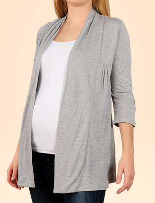 Apeainthepod 3/4 Sleeve Cascade Maternity T Shirt - Pregnant Style
