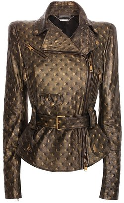 Studs Leather Jacket - Dress Like Mary-Kate Olsen