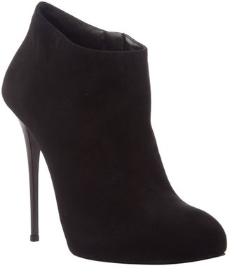 GIANMARCO LORENZI - Suede ankle boot - Dress Like Jenny Humphrey