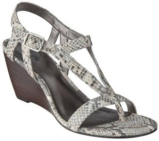d33cd2829bf These Jimmy Choo  Connor Elaphe  Snake Wedge Sandals would be the perfect  neutral shoe for summer