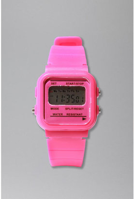 Digital Plastic Watches - Pink Digital Watches