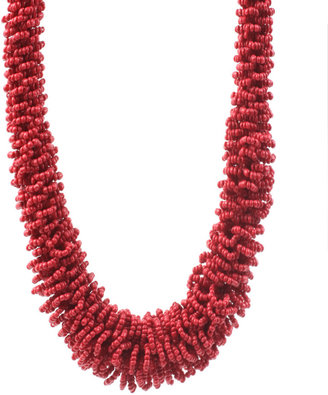 ASOS Mid-Length Beaded Tribal Style Necklace - Asos