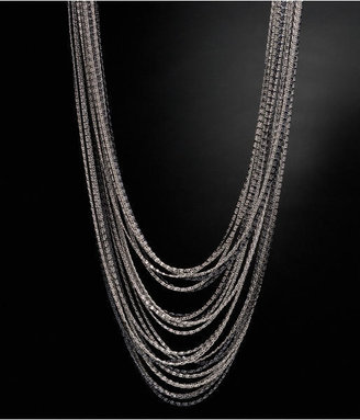 Layered Chain Necklace - Layered Sterling Necklace