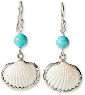 Beachcomber shell earrings - Seaside Accessories