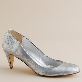 Sylvia metallic leather pumps - Heels