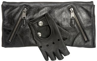 Black Faithful Glove Clutch - The Best of Alexander McQueen Handbags 