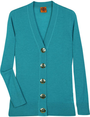 Tory Burch Simone wool cardigan - Dress Like Hilary Duff