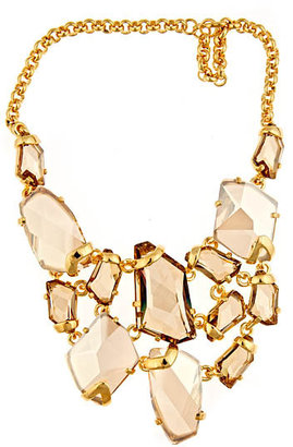 Kenneth Jay Lane Crystal Bib Necklace - Rihanna-Style Accessories