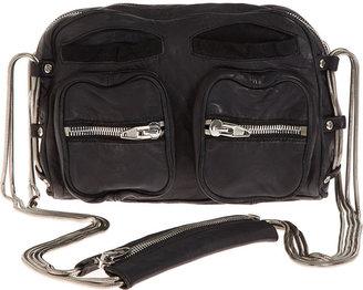 Alexander Wang Brenda Washed Shoulder Bag - Black - Leather Shoulder Bag