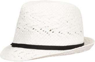 Straw Womens Fedora - Hats