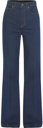 McQ High-waisted flared jeans - High-Waisted Jeans