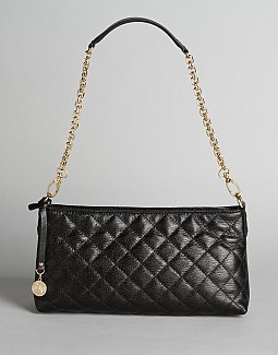 Quilted Clutch with Chain - DKNY