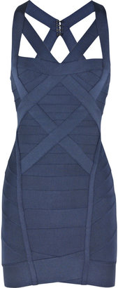 Herv Lger Cross-over bandage dress - Bodacious Bandage Dresses