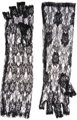 ASOS Long Lace Fingerless Gloves - Luscious Lace Gloves 