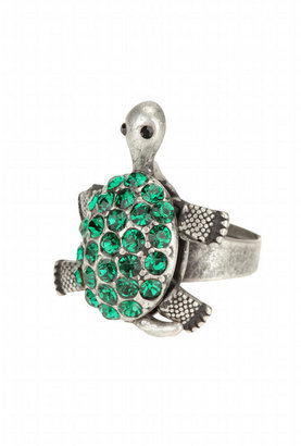 Pave Movable Turtle Ring - Decorative Rings