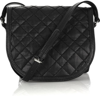Balmain Baby Mat quilted leather bag - Shoulder Bags
