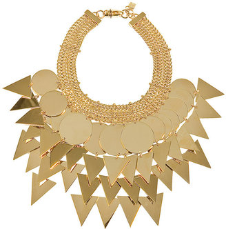 Givenchy Big Golden Necklace - Bronze Statement Necklace