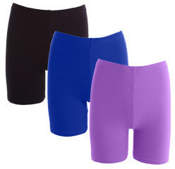 Cotton Spandex Jersey Cycle Short (3-Pack) - American Apparel