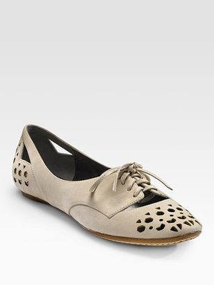 Belle by Sigerson Morrison Round-Toe Oxfords - Flat Oxfords