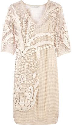 Stella McCartney Embroidered cotton mesh dress - The Best of Stella McCartney