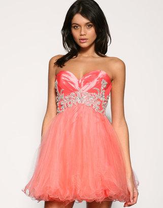 Forever Unique Diamante Tutu Prom Dress - Tutu Prom Dresses