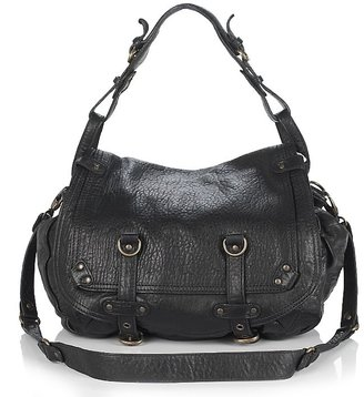Abaco Jamily Leather Crossbody Saddle Bag - Leather Satchel Bags