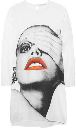 Richard Nicoll Silk crepe de Chine print dress - The Best of Richard Nicoll