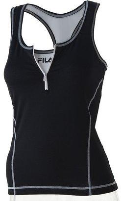 Fila sport® 1/2-zip tank - Athletic Tanks