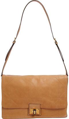 Lanvin Toucouleur Besace - Camel - Mad Men Style Handbags