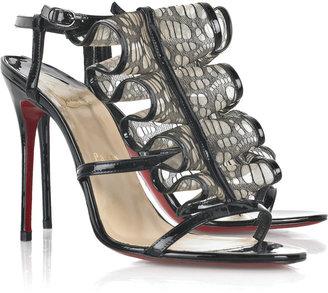 Christian Louboutin Fortitia 100 sandal - Stunning Evening Sandals